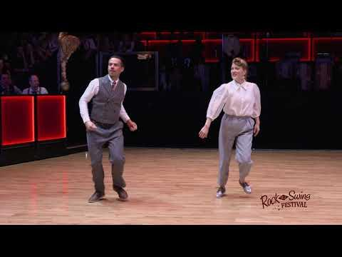 RTSF 2020 Rock That Swing Ball (Saturday) – Solo Jazz/ Lindy Hop – Daria & JB