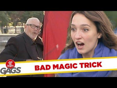 Magic Trick Gone Wrong!
