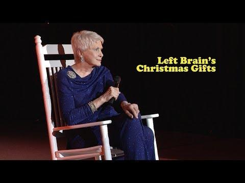 Left Brain's Christmas Gifts as told by Jeanne Robertson