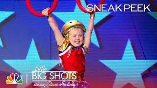 Little Big Shots - Lylah, the Littlest Ninja Warrior (Sneak Peek)