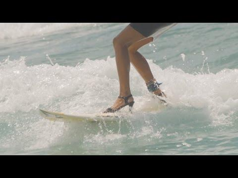 Surfing In High Heels