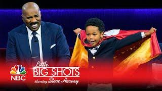 Little Big Shots - He's Six and a Star Volunteer (Episode Highlight)