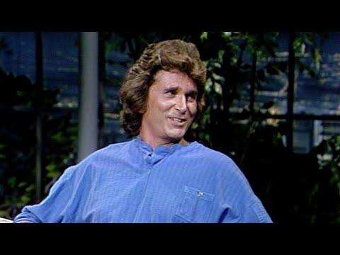 Michael Landon Appearance on The Tonight Show Starring Johnny Carson - 08/16/1984