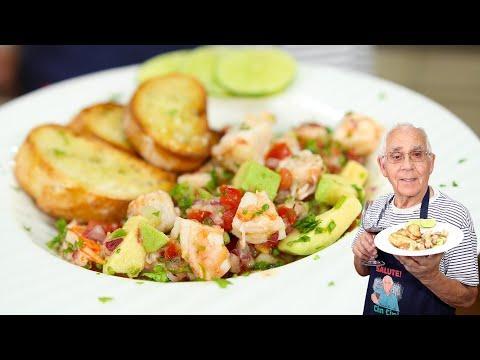 Shrimp Ceviche Recipe Video. OrsaraRecipes