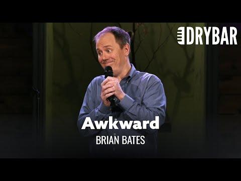 Getting Older Can Be Awkward Video. Comedian Brian Bates
