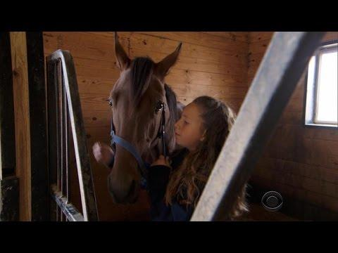 Little Girl's Pet Horse Becomes Racing Champion
