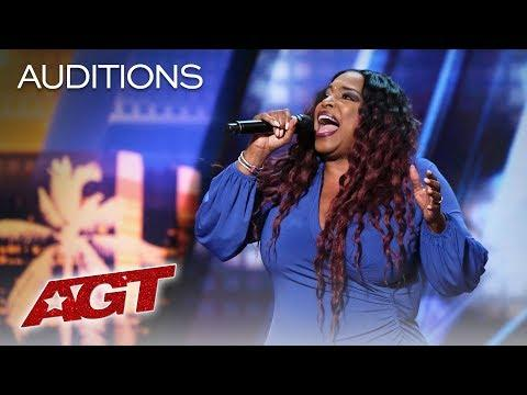 Background Singer Carmen Carter Takes Her Turn At The Spotlight - America's Got Talent 2019