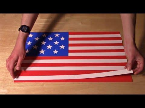 History of the U.S. Flag, in Paper #Video