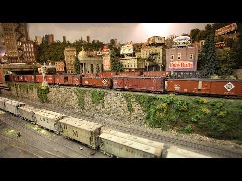 Tunnel Vision: Man Builds Million Dollar Model Railway