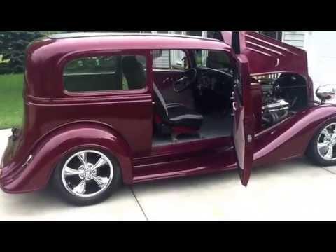 1934 Chevy Tudor Sedan Streetrod