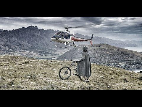 The Hobbit Heli Mountain Biking In New Zealand - 4K (Ultra HD)