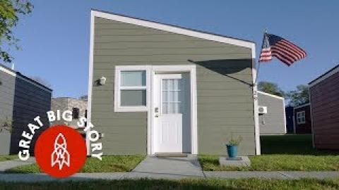Tiny Houses Give Homeless Veterans a Place to Call Home