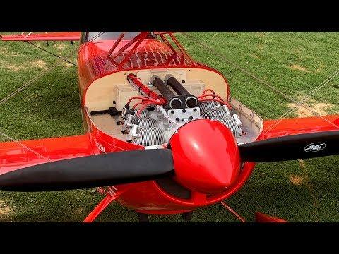 Rc Pitts With The Brand New 6 Cylinder KOLM Engine