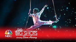 Little Big Shots - Ukrainian Aerial Acrobats (Episode Highlight)