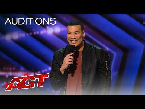 Michael Yo Gets the Audience Rolling With Jokes About Getting Older Video - AGT 2020