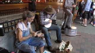 Spoon Lady & Ben Shirley - Rabbit in a Pea Patch - Nashville