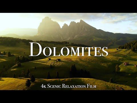 The Dolomites 4K - Scenic Relaxation Film With Calming Music #Video