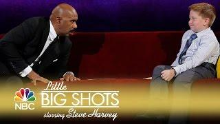 Little Big Shots - Steve in a Staring Contest (Episode Highlight)