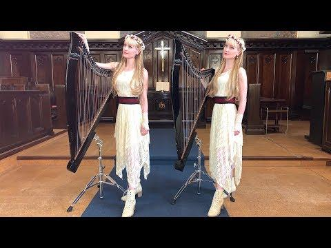 COVENTRY CAROL - Camille and Kennerly (HARP TWINS)