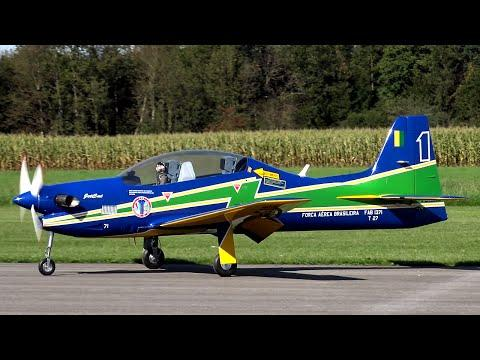 RC Scale Airplanes - Rc EMB 312 Tucano