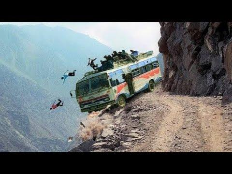 10 Most Dangerous High Roads In The World Video