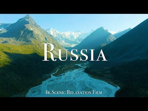 Russia 4K - Scenic Relaxation Film with Calming Music #Video