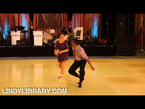 Totally Awesome Lindy Hop Dance Routine!