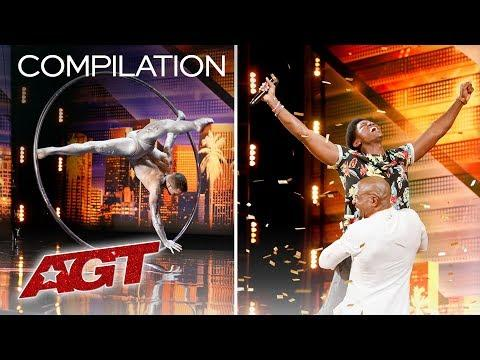 GOLDEN BUZZER And EMOTIONAL Moments On AGT! Try Not To Cry Challenge - America's Got Talent 2019