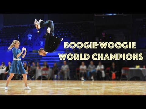 Boogie Woogie World Champions! Sondre & Tanya #Video