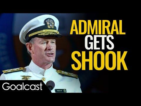 Navy SEAL Veteran Gets Wake Up Call From Worst Fear | Admiral McRaven