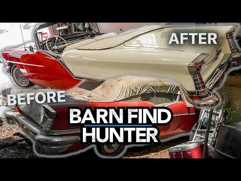 Rags to Riches: Barn find Tri-power Oldsmobile gets restored | Barn Find Hunter - Ep. 101 #Video