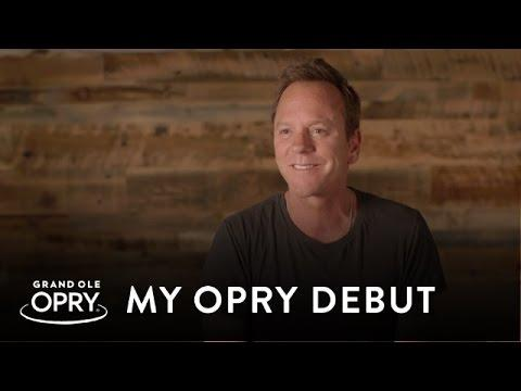 Kiefer Sutherland | My Opry Debut | Opry