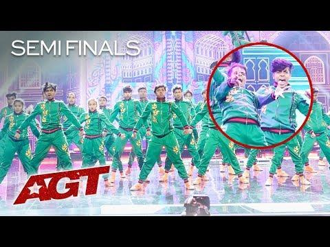 Indian Dance Crew V.Unbeatable Does DANGEROUS And UNBELIEVABLE Flips! - America's Got Talent 2019
