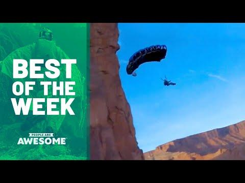Extreme Parachuting, Parkour & More | Best of the Week