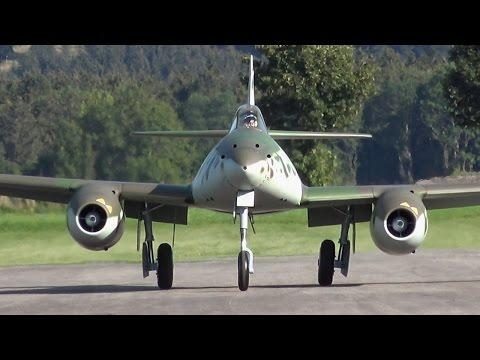 RC Scale Airplanes - 1/4 Scale Rc Messerschmitt Me-262