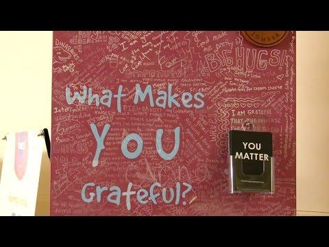 Look For The Good Project Promotes Gratitude And Goodness