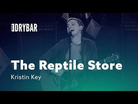 Finding Love At The Reptile Store. Kristin Key