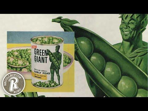 The Story of the JOLLY GREEN GIANT - Life in America #Video