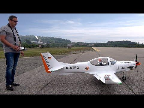 RC GROB G120TP - Turbo-Prop. RCScaleAirplanes
