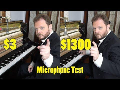 Can You Hear The Difference Between Cheap and Expensive Microphones?