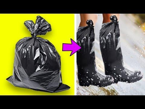 36 CLEVER LIFE HACKS TO RECYCLE PLASTIC