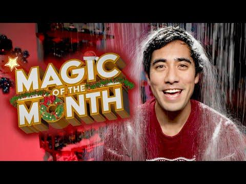 Zach Reacts to Your Christmas Magic | MAGIC OF THE MONTH - December 2019