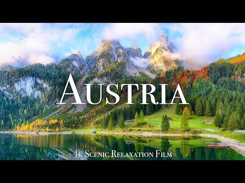 Austria 4K - Scenic Relaxation Film With Calming Music #Video