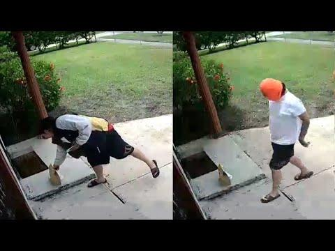 Guy Delivers Food and then Steals It. Your Daily Dose Of Internet. #Video