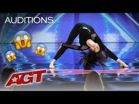 Marina Mazepa Is A Beautiful Ballerina With A Twist On Contortion! - AGT 2019