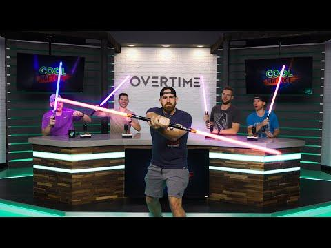 Lightsaber Accident | Overtime 13 | Dude Perfect