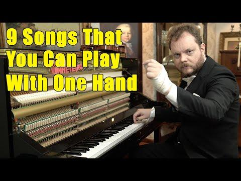 9 Songs That You Can Play With One Hand