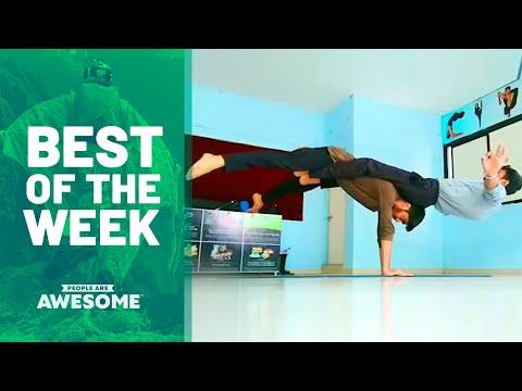 Best of the Week | Adaptive Skills, Trickshots & More | People Are Awesome