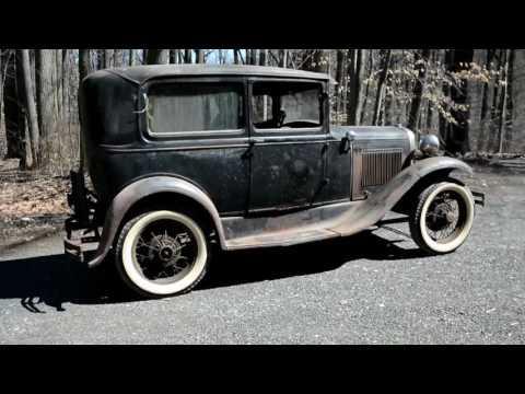 1931 Ford Model A Tudor Barn Find #Video