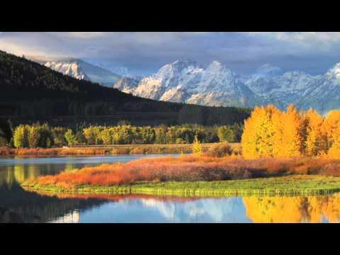Quiet Reflections Of Autum In The Teton National Park